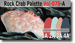 Rock Crab Palette by Polymer Clay Tutor