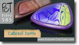 CaBezel Demo - Polymer Clay Tutor