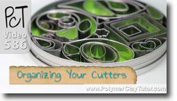 Organizing Your Polymer Clay Cutters - Polymer Clay Tutor