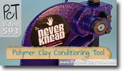 Never Knead Product Demo - Polymer Clay Tutor