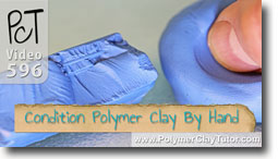 Conditioning Polymer Clay By Hand - Polymer Clay Tutor