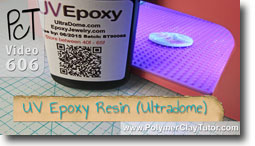 Ultradome UV Epoxy Resin - Polymer Clay Tutor
