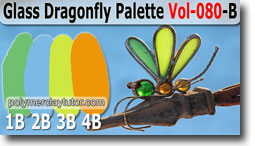 Glass Dragonfly Palette by Polymer Clay Tutor