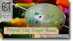 Polymer Clay Crayon Beads - Polymer Clay Tutor