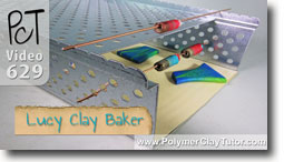 Lucy Clay Tools Baker - Polymer Clay Tutor