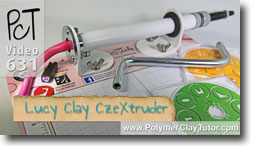 Lucy Clay Extruder - Polymer Clay Tutor