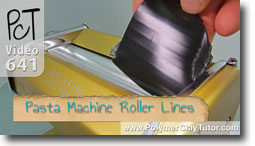 Pasta Machine Roller Lines - Polymer Clay Tutor