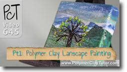 Polymer Clay Landscape Painting - Polymer Clay Tutor