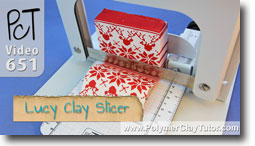 Lucy Clay Slicer - Polymer Clay Tutor
