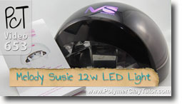 Meoldy Susie 12w LED Light - Polymer Clay Tutor