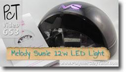 Meoldy Susie 12w LED Light - Polymer Clay Tutor