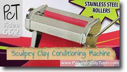Sculpey Clay Conditioning Machine - Polymer Clay Tutor