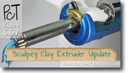 Sculpey Clay Extruder Usage Tips - Polymer Clay Tutor