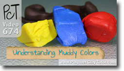 Understanding Muddy Colors - Polymer Clay Tutor