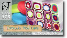 Extruder Mod Cane - Polymer Clay Tutor