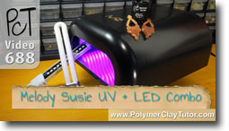 Melody Susie UV and LED Combo Curing Lamp - Polymer Clay Tutor