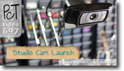 Studio Cam Videos - Polymer Clay Tutor