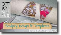 Sculpey Design It Templates - Polymer Clay Tutor