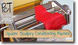 Sculpey Clay Conditioning Machine - Polymer Clay Tutor
