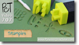 Stampies - Polymer Clay Tutor