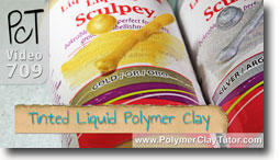 Tinted Liquid Polymer Clay