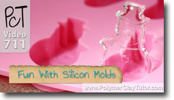 Fun With Silicon Molds - Polymer Clay Tutor