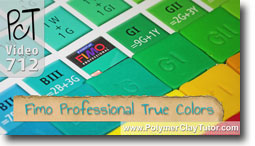 Fimo Professional True Color System - Polymer Clay Tutor