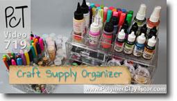 Melody Susie Acrylic Organizer - Polymer Clay Tutor
