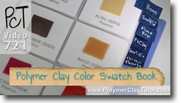 Color Swatch Book - Polymer Clay Tutor