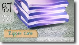 Zipper Cane - Polymer Clay Tutor
