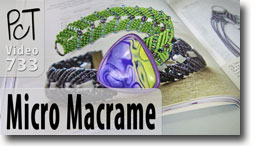 Micro Macrame Book Review - Polymer Clay Tutor