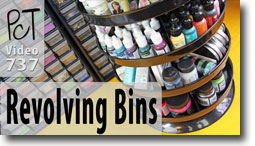 Revolving Craft Bins - Polymer Clay Tutor