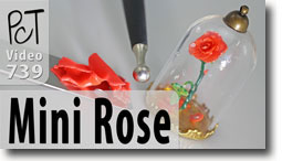 Miniature Enchanted Rose - Polymer Clay Tutor