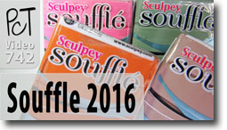 New Sculpey Souffle 2016 Colors - Polymer Clay Tutor
