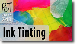 Tinting Liquid Clay's with Alcohol Inks - Polymer Clay Tutor