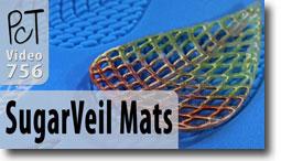 SugarVeil Silicon Mat Demo - Polymer Clay Tutor