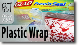 Glade Press'n Seal Plastic Wrap - Polymer Clay Tutor