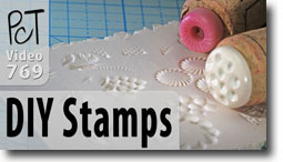 DIY Texture Stamps - Polymer Clay Tutor