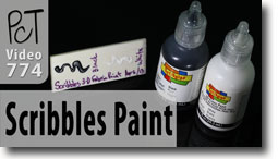 Testing 3D Scribbles Fabric Paint - Polymer Clay Tutor