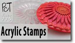 Hasking Laser Cut Acrylic Stamps - Polymer Clay Tutor