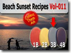 Dusky Sky Sun Polymer Clay Color Sample