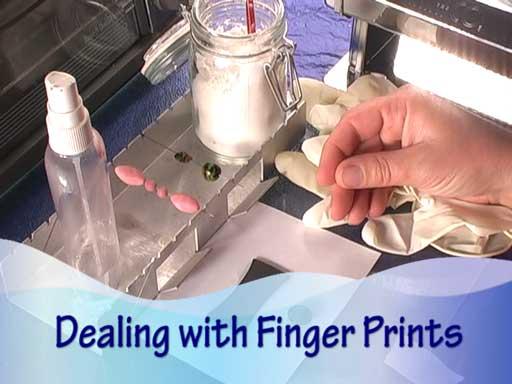Fingerprints on Polymer Clay
