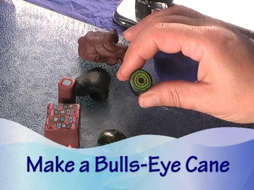 Bullseye Cane Making