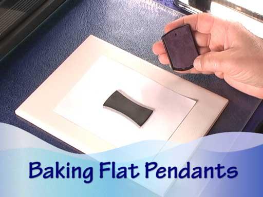 Baking Polymer Clay Pendants