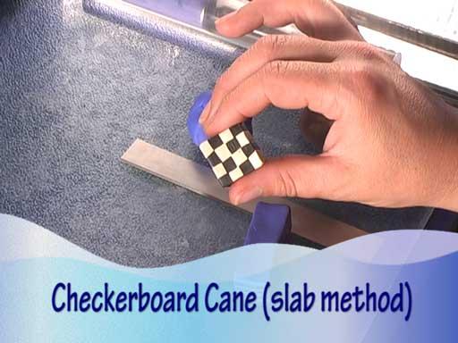 Checkerboard Cane Slab Method