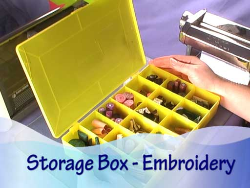 Ideas For Polymer Clay Storage