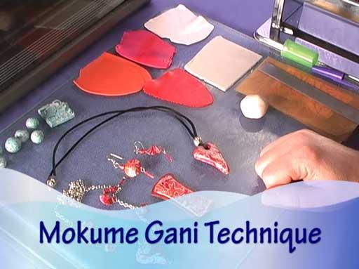 Mokume Gane Polymer Clay